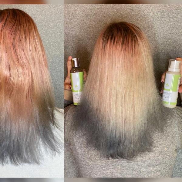 Naravni šampon za poškodovane suhe lase in občutljivo lasišče