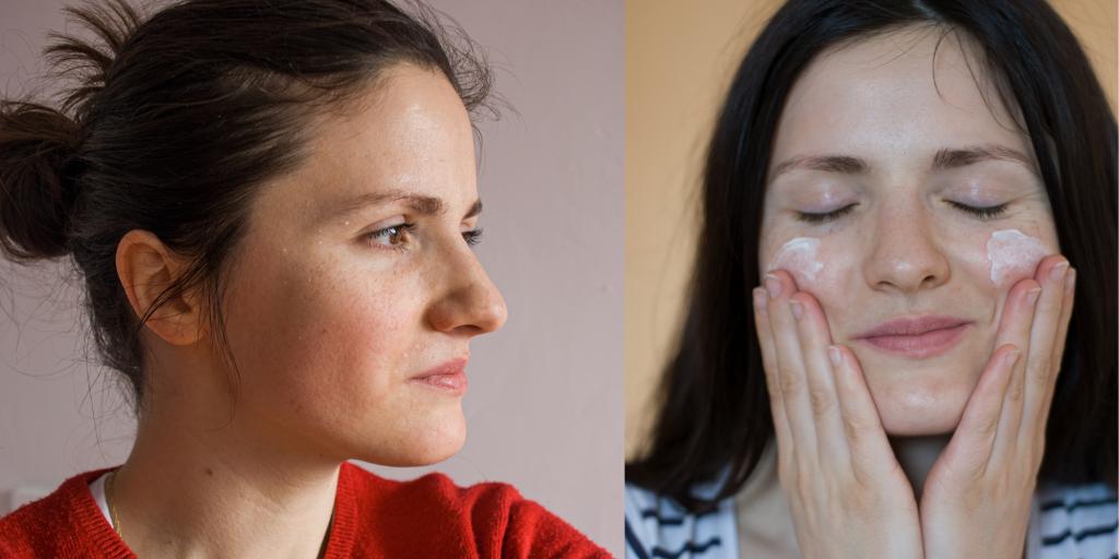Naravna krema za obraz za suho kožo, koža ni več hrapava, ni več suha, ni več razpokana. Je navlažena, mehka in zdrava,
